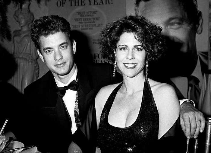 Том Хэнкс и Рита Уилсон - больше 30 лет вместе
