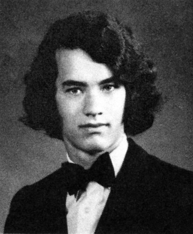 Том Хэнкс в молодости